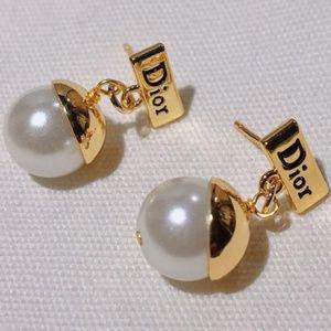 Dior Pearl Earrings